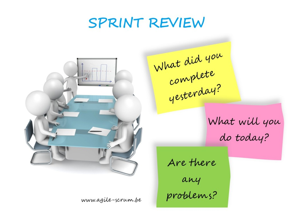 AGILE SCRUM Belgium Sprint Reviews