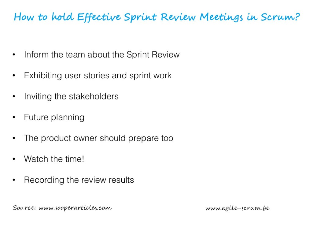 AGILE SCRUM VISUAL sprint reviews scrum info