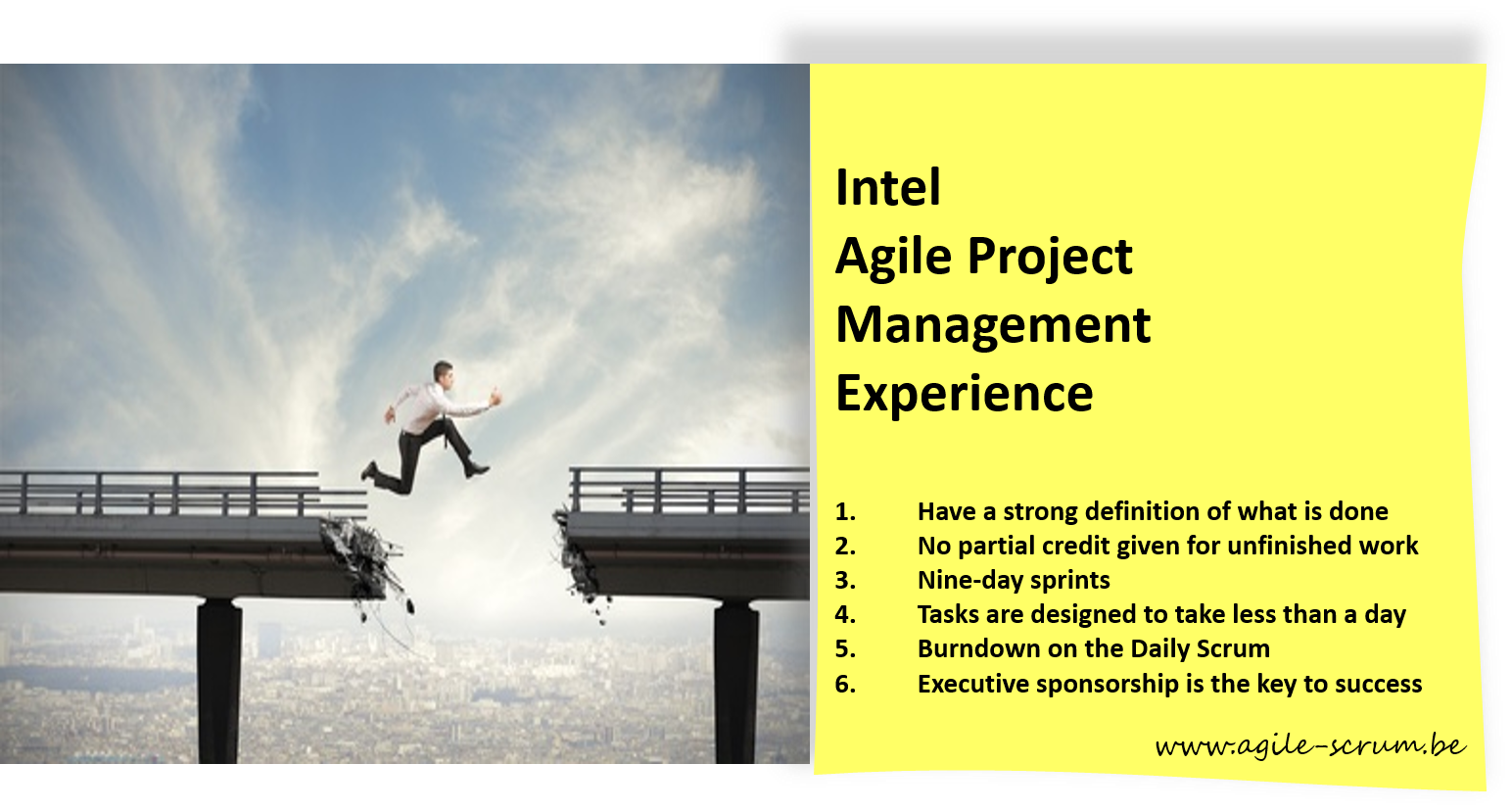 The Intel Scrum Experience: 6 Great Agile Project Management Practices