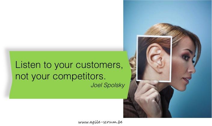 Quote Joel Spolsky agile srum belgium